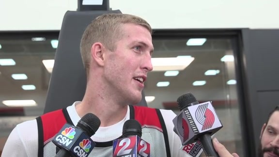 Mason Plumlee on First Day of Training Camp: