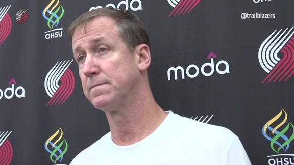 Stotts on the First Two Preseason Games:
