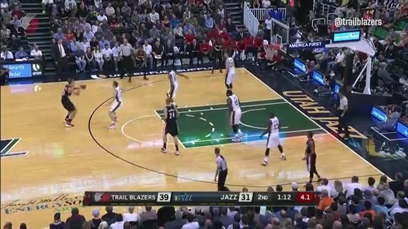 Highlights: Trail Blazers 88, Jazz 81