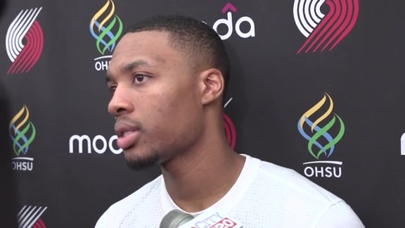 Damian Lillard Says Trail Blazers 'Will Have to Hang Their Hat' on Defensive Play