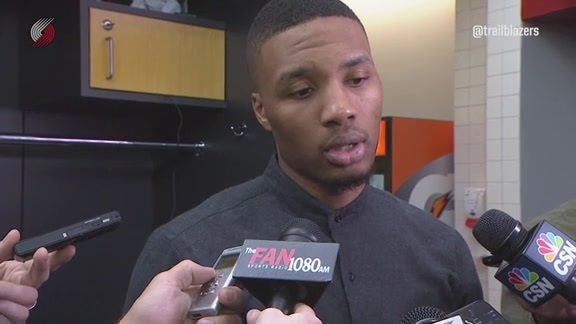 Lillard: 'We Turned the Ball Over Too Much Down the Stretch'
