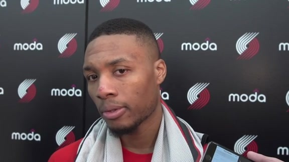 Lillard Talks About His New Role in Portland's Offense, Playing with Aminu and Plumlee