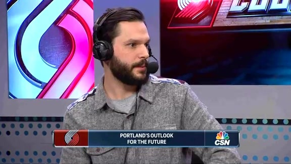 The Oregonian's Joe Freeman Joins Trail Blazers Courtside