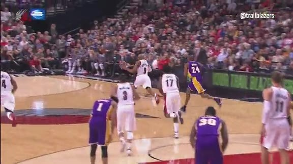 Highlights: Trail Blazers 108, Lakers 96