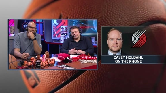 Casey Holdahl Discusses the Season at the Midway Point