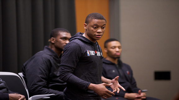 Video: Trail Blazers Help Mentor Local Youth Through Special Event