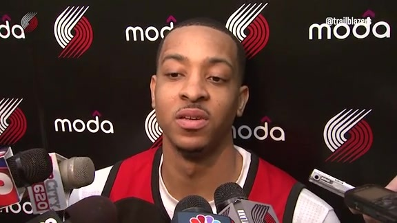 McCollum on Batum as a Teammate: 'When He Talked, You Listened'