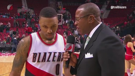 Lillard: 'We had to get More Aggressive' in Win Versus Minnesota