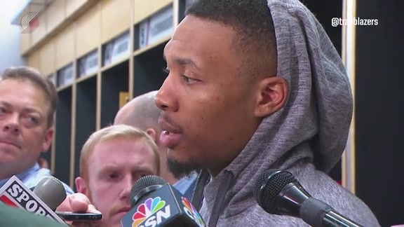 Lillard: 'We've Played More Complete Games'