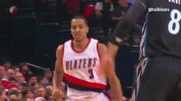 Highlights: Trail Blazers 96, Timberwolves 93