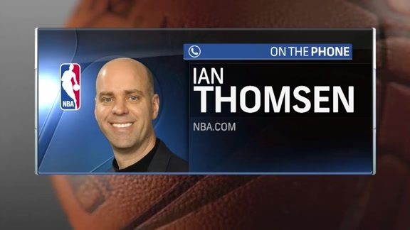 NBA.com's Ian Thomsen Joins Courtside