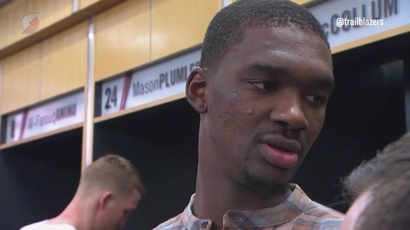 Vonleh on Ankle Injury: 'I Don't Think It's Anything Major'