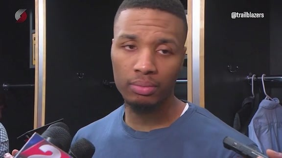 Lillard on Loss to Toronto: 'They Outplayed Us Tonight'