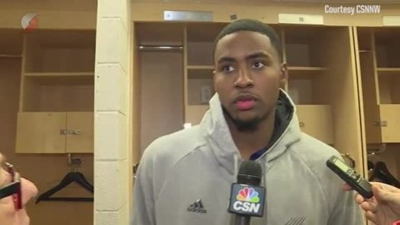 Harkless: 'I Just Stay Locked-In'