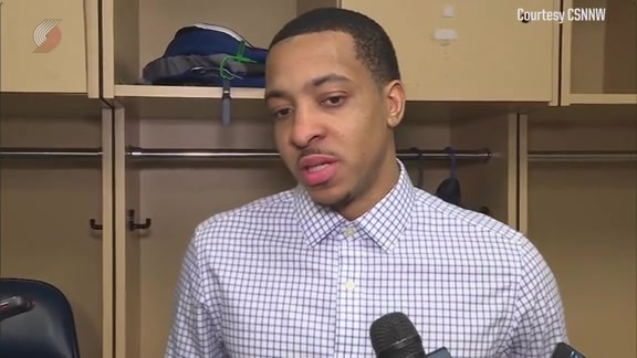 McCollum on Blazers Learning to Win Close Games
