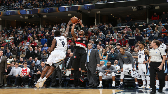 Highlights: Trail Blazers 112, Grizzlies 106