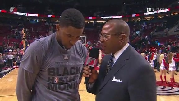 Maurice Harkless Earns the Walk-off Interview
