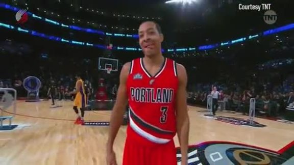 Video: CJ McCollum Advances to Second Round of Taco Bell Skills Challenge