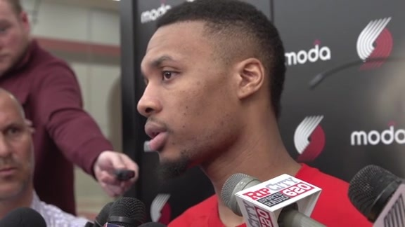 Lillard Discusses Close Friend, Frazier, Being Waived