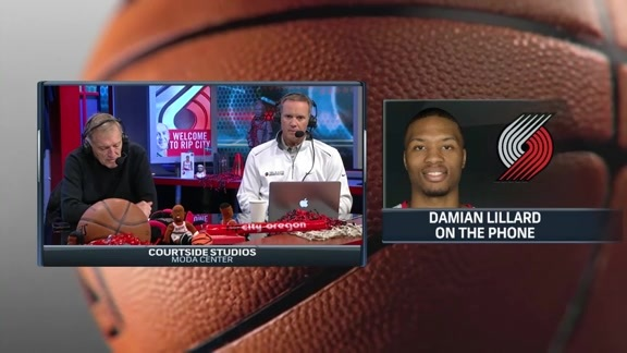 Lillard on Stotts: 'He Allows Guys to be Themselves''