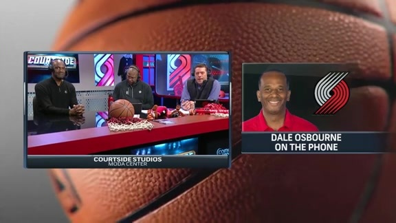 Dale Osbourne Joins Courtside from New York