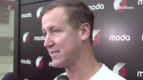 Stotts: 'The Crowd has been Awesome, and I Know It's Going to be Even Better Tonight'