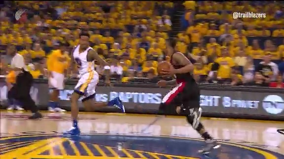 Game One Highlights: Trail Blazers 106, Warriors 118