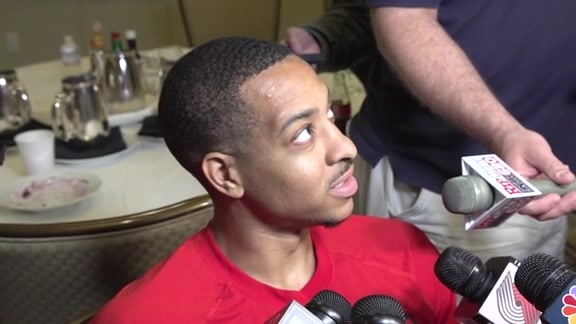 McCollum on Game One Defeat: 'It's Just One Game'
