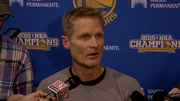 Warriors Discuss Blazers Ahead of Game Two