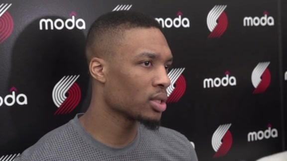Lillard on Golden State: 'They See Slippage and They Go After It'