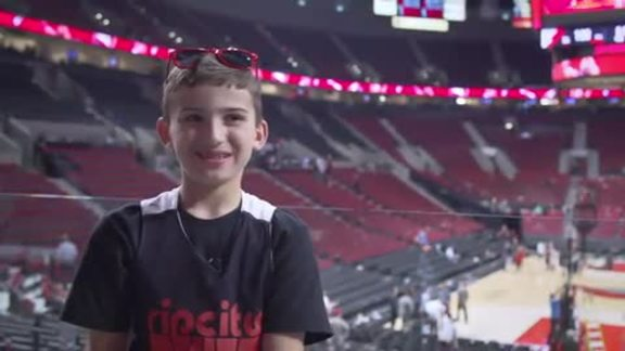 Video: Nike and Trail Blazers Provide a Sharing Moment for Tyler