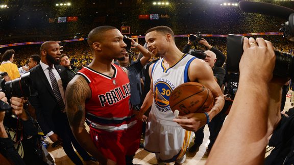 Game Five Highlights: Trail Blazers 121, Warriors 125