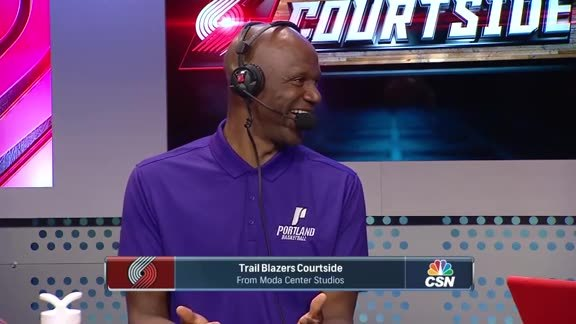 Trail Blazers Great and UP Head Coach Terry Porter Joins Courtside