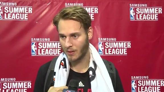 Jake Layman Discusses Loss to Suns
