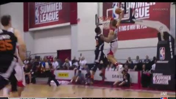 Video: Jake Layman Throws Down Impressive Dunk