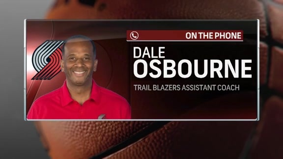 Dale Osbourne Checks-In from Summer League