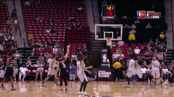 Video: Pat Connaughton Hits Double-Overtime, Sudden-Death Game-Winner