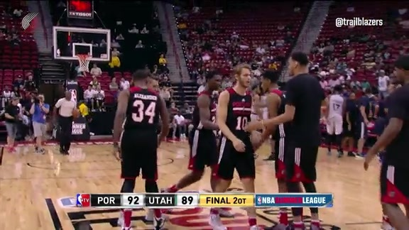 Summer League Highlights: Trail Blazers vs. Jazz