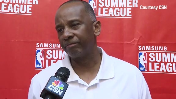 Video: Summer League Coach Dale Osbourne Recaps Loss to Jazz