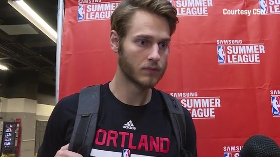 Video: Jake Layman Assesses Growth During Summer League