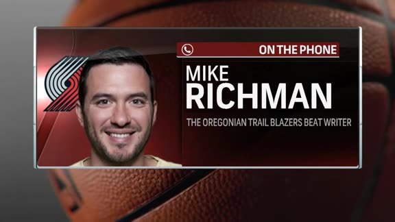 Oregonian Beat Writer Mike Richman Talks Blazers Summer League