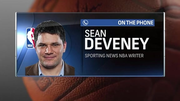 Sporting News' Sean Deveney Talks NBA Offseason on Courtside