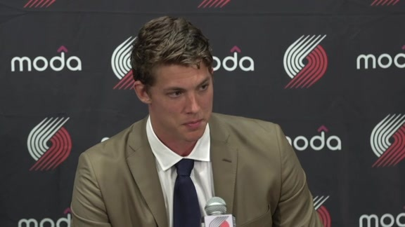 Meyers Leonard New Contract Press Conference