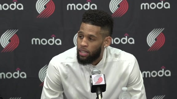 Allen Crabbe New Contract Press Conference