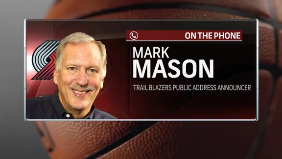 Public Address Announcer Mark Mason Discusses Health Complications