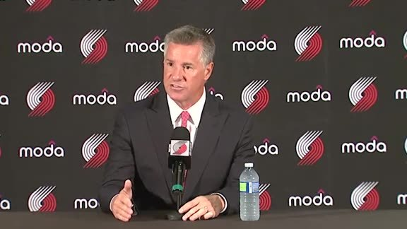 Neil Olshey Media Day Press Conference