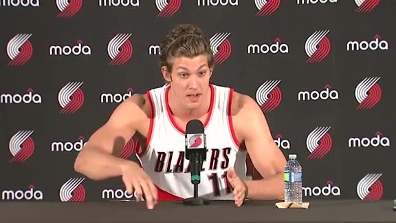 Meyers Leonard Media Day Press Conference