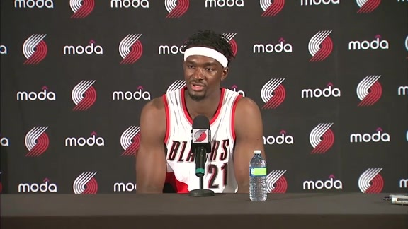 Noah Vonleh Media Day Press Conference