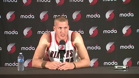 Mason Plumlee Media Day Press Conference