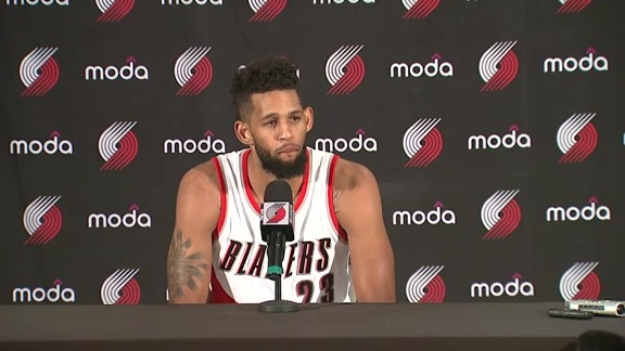 Allen Crabbe Media Day Press Conference